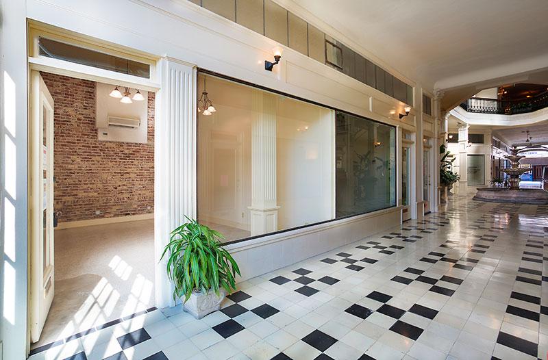 Arcade Building Suite 109 Brick