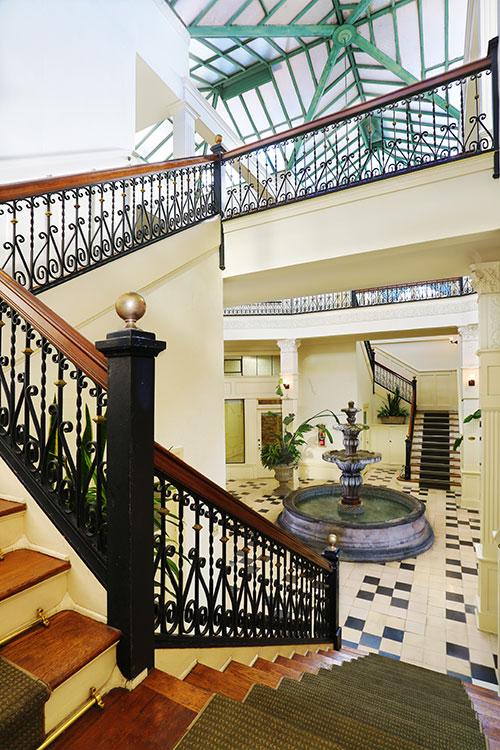 Arcade Building Staircase