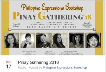Pinay Gathering 2018 authors images
